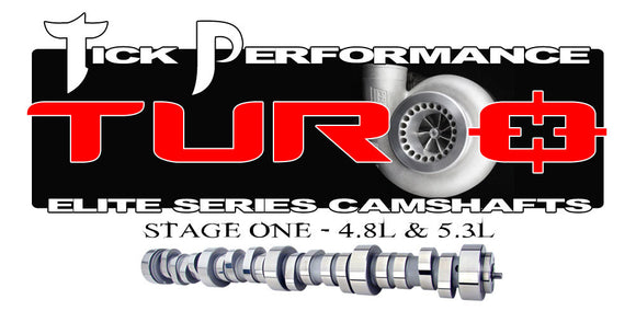 TICK PERFORMANCE TURBO STAGE 1 CAMSHAFT FOR 4.8L & 5.3L ENGINES