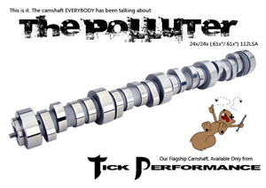 TICK PERFORMANCE POLLUTER V1 CLASSIC CAMSHAFT FOR LS1 & LS6 ENGINES