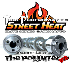 TICK PERFORMANCE STREET HEAT STAGE 3 POLLUTER V2 CAMSHAFT FOR LS1 & LS6 ENGINES