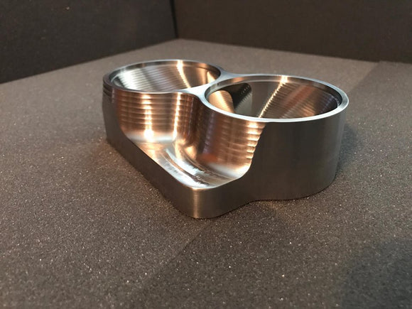 Street Carr Fabrication Stainless Billet Dual 2.5