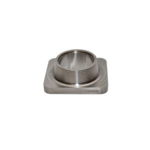 "Street Carr Fabrication Stainless Billet Single 2.5"" Inlet T4 Flange"