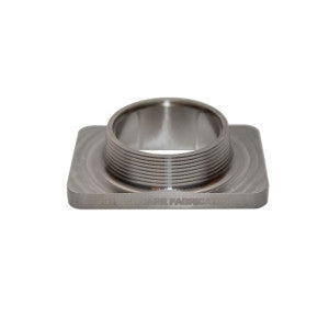 "Street Carr Fabrication Stainless Billet 3"" Single Inlet T6 Flange"