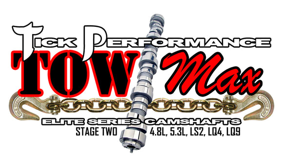 TICK PERFORMANCE TOWMAX STAGE 2 CAMSHAFT FOR 4.8L, 5.3L, LS2, LQ4 & LQ9 ENGINES