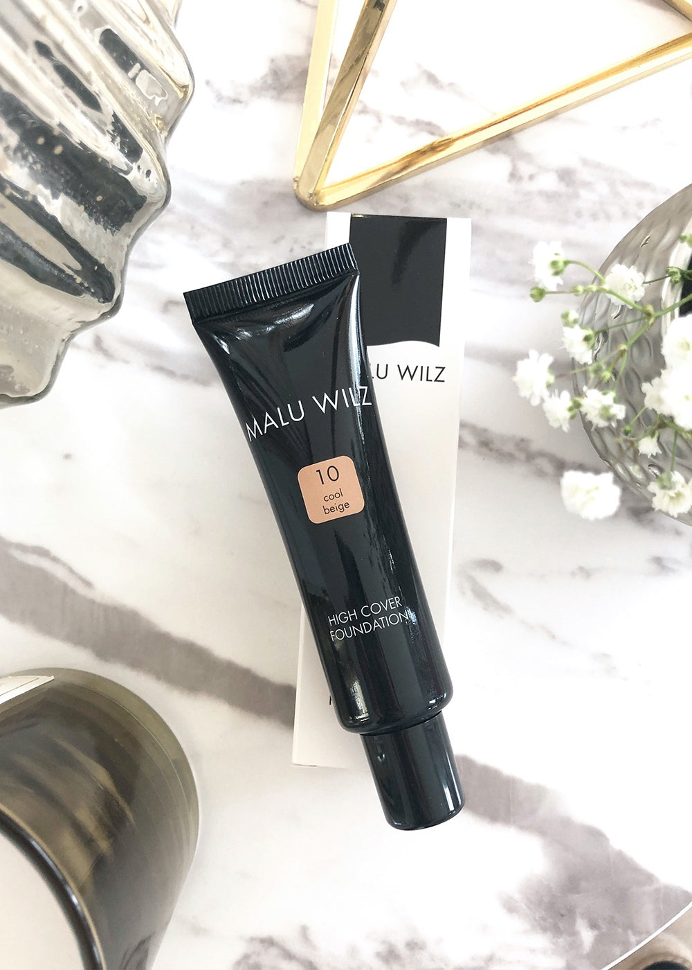 Malu Wilz High Cover Foundation Cool Beige No. 10