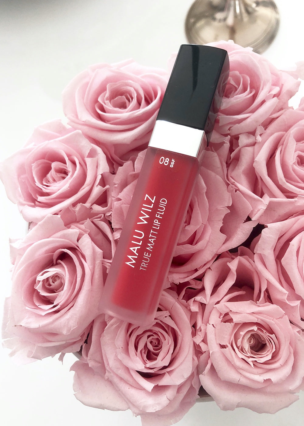 Malu Wilz True Matt Lip Fluid Red Perfection, Nr. 08