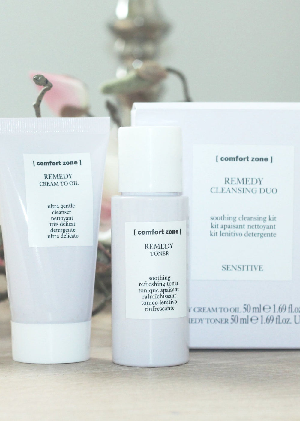[comfort zone] REMEDY Cleansing Duo