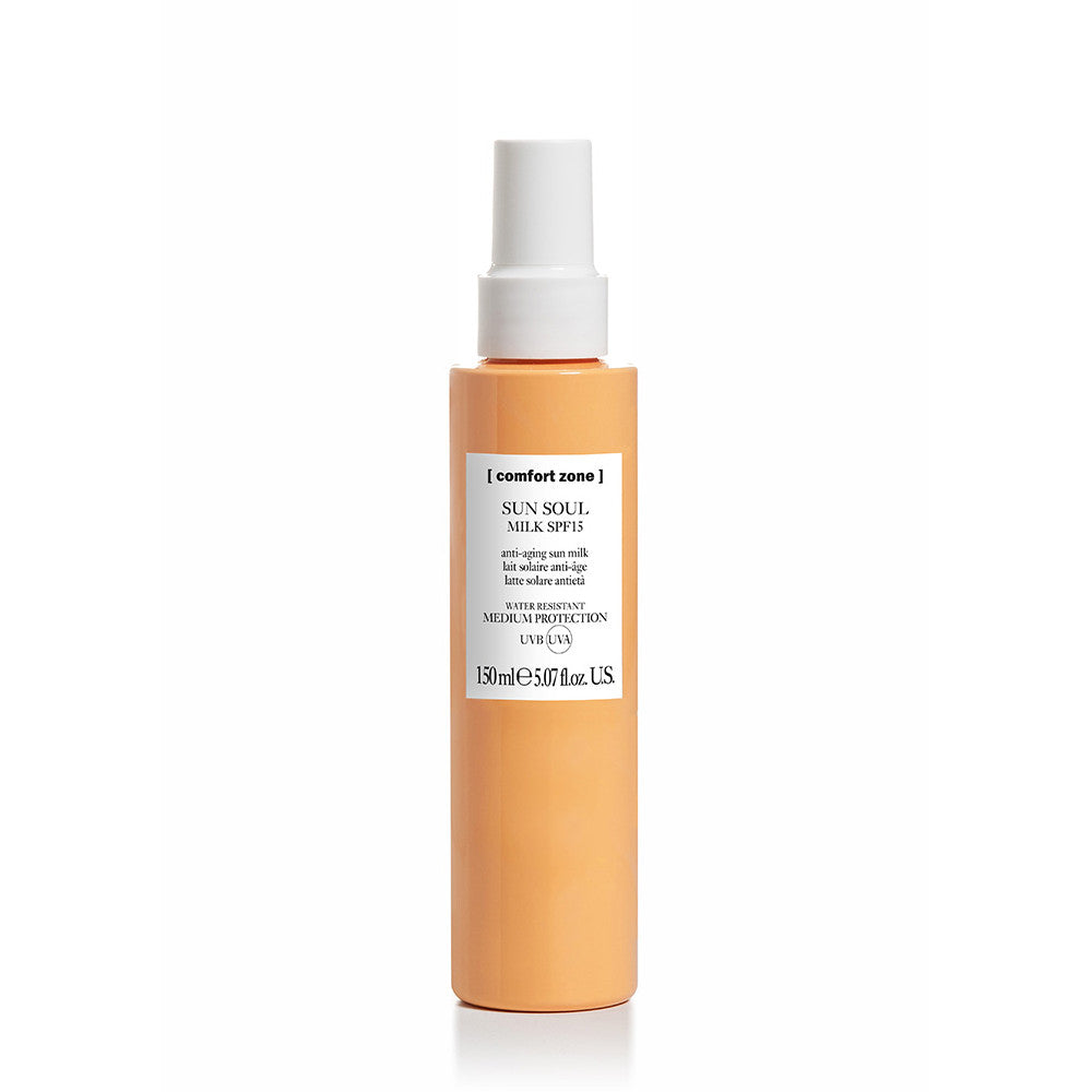 [COMFORT ZONE] SUN SOUL BODY SPRAY SPF 15 MILK
