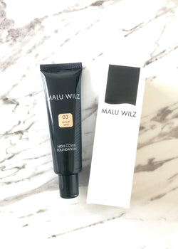 Malu Wilz High Cover Foundation Natural Sand No. 03