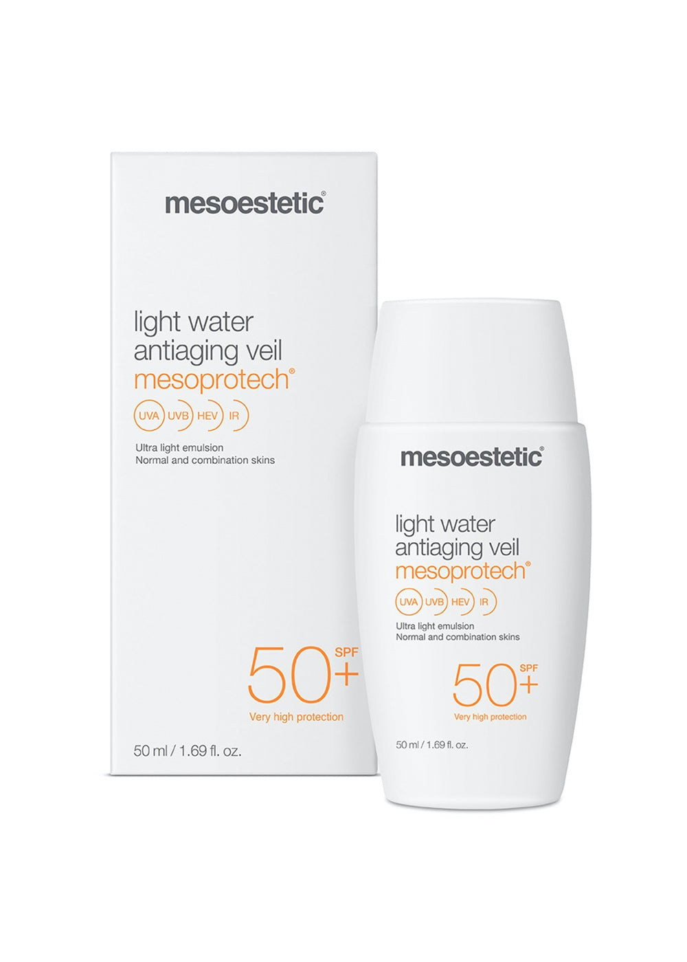 Mesoestetic Mesoprotech Light Water Veil 50+