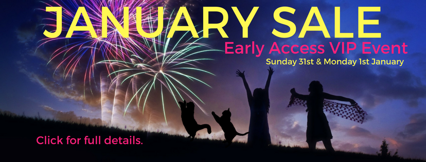 JAN SALE VIP EVENT! Have you signed up?