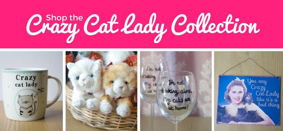 shop our crazy cat lady gift collection.