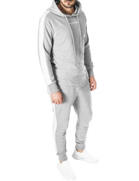 tracksuits for men with contrast side stripe