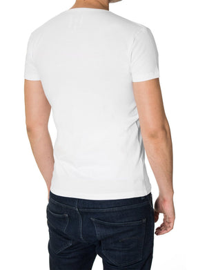 "Mens ""Bad is New Good"" T-shirt White (MOD1057RN)"