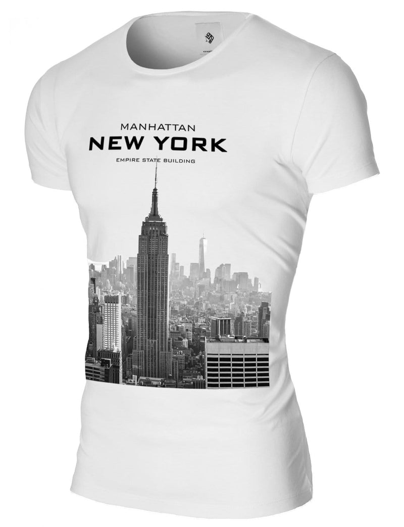 manhattan new york t-shirts for men