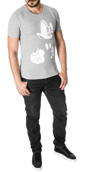 """Angry Mickey Mouse"" T-shirt"