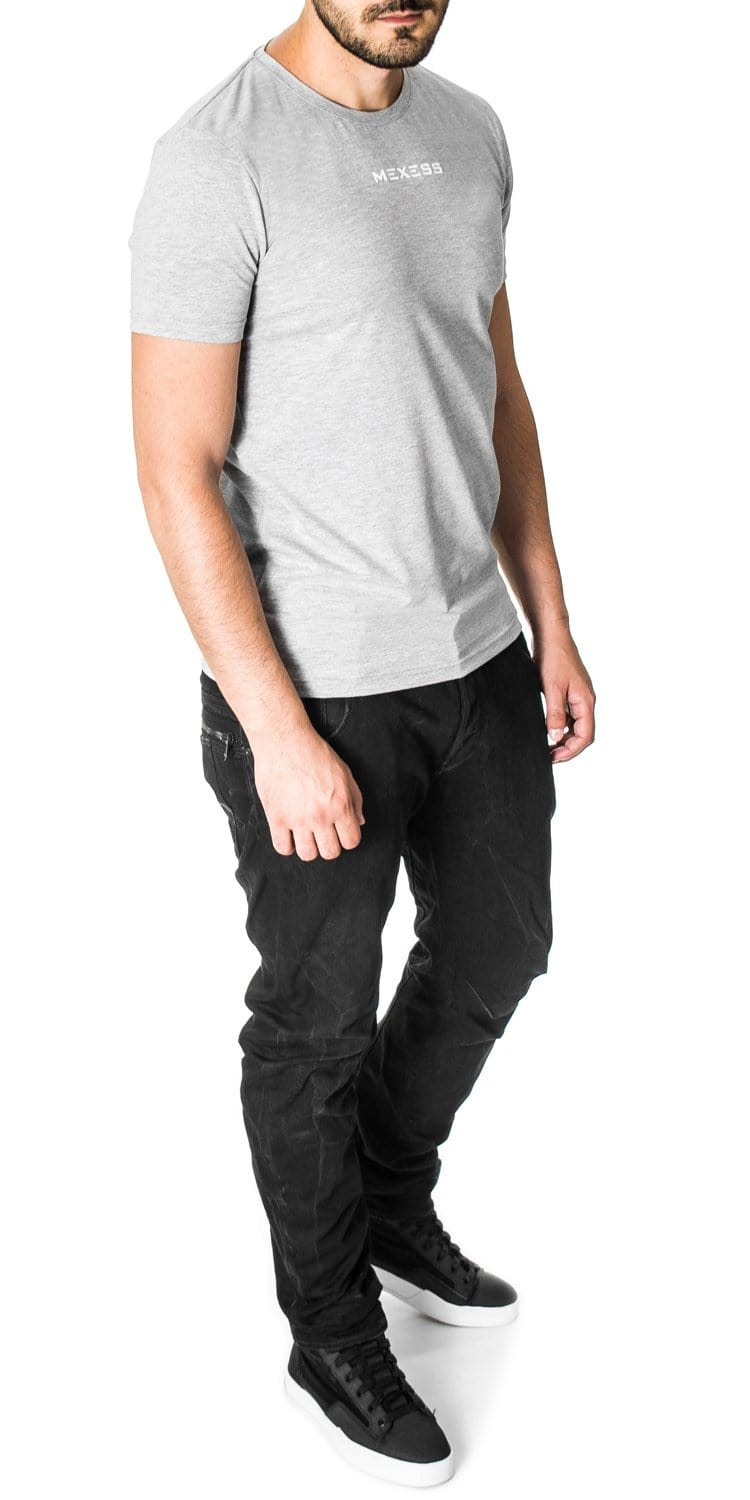 basic plain tee for men