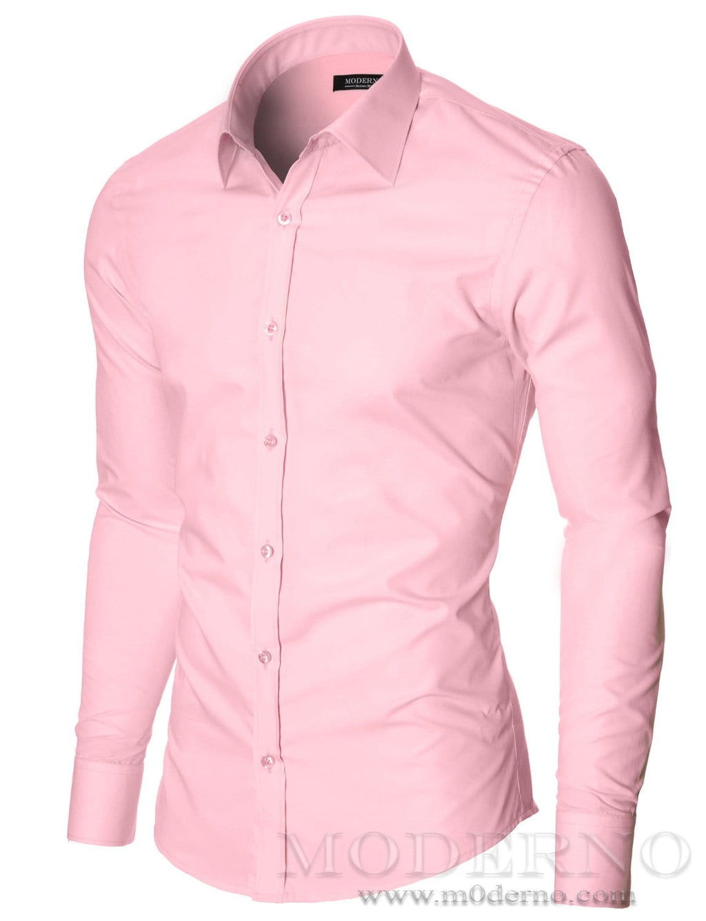 Slim Fit Dress Shirts For Men By Moderno