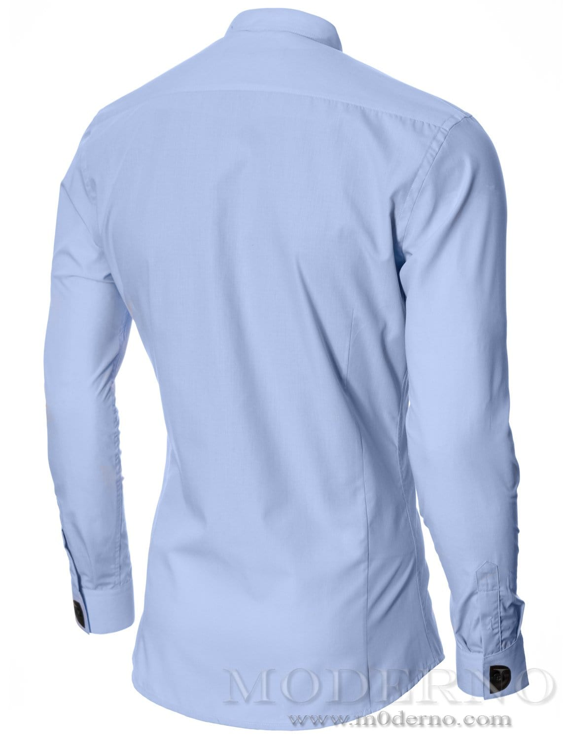Mens dress shirt sky (MOD1427LS) - MODERNO