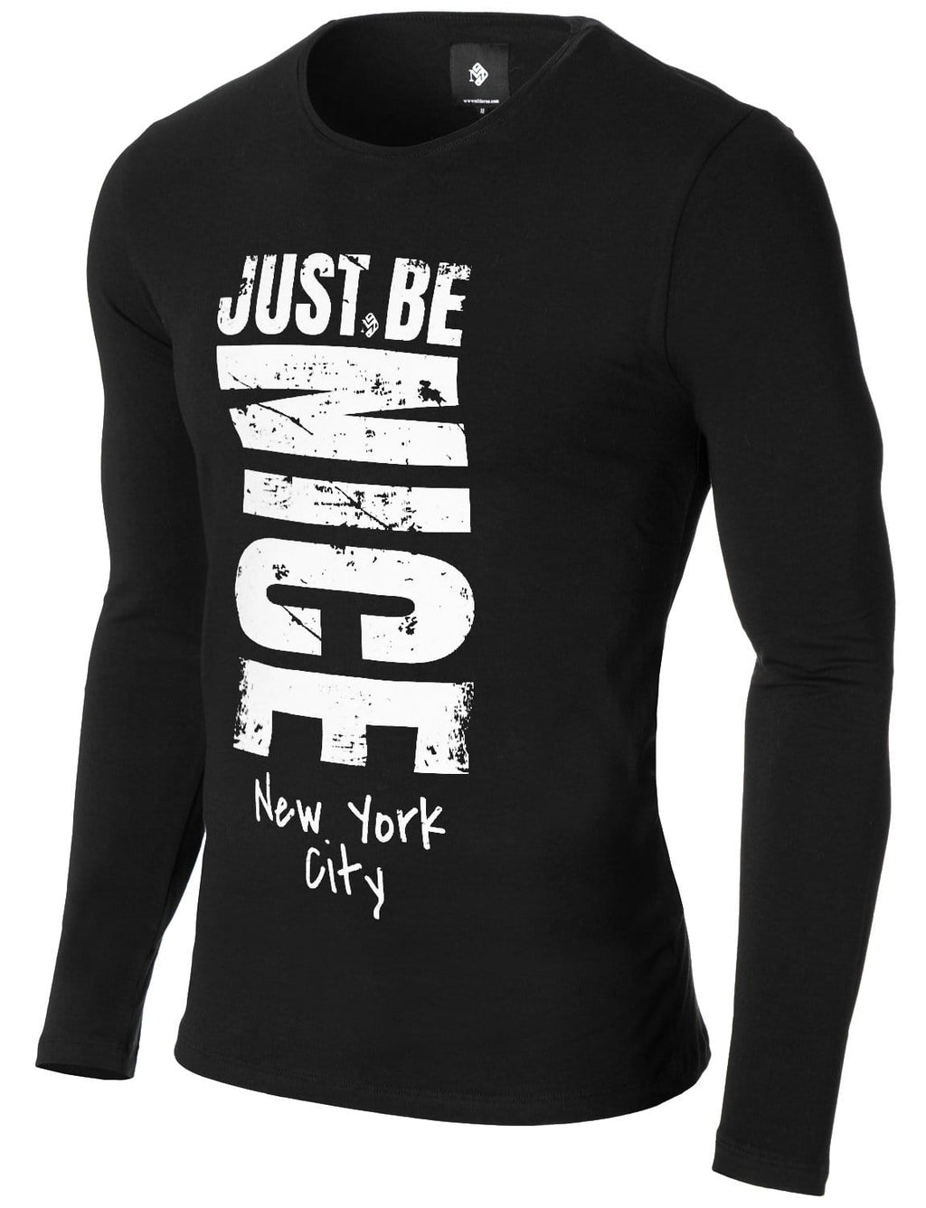 """Just Be Nice"" Long Sleeve T-shirt"