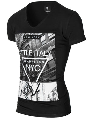 manhattan new york t-shirt for men