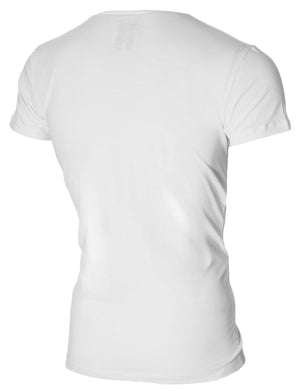 Mens Graphic Tee Lollipop Girl Print White (MOD2009VN)