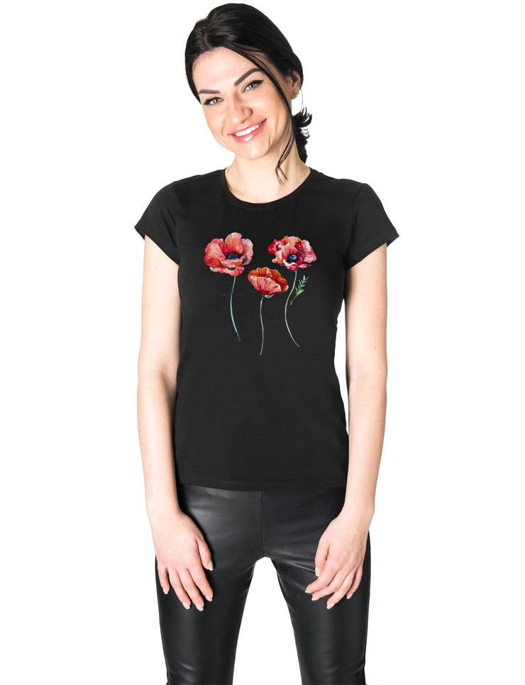 """Red Poppies"" T-shirt"
