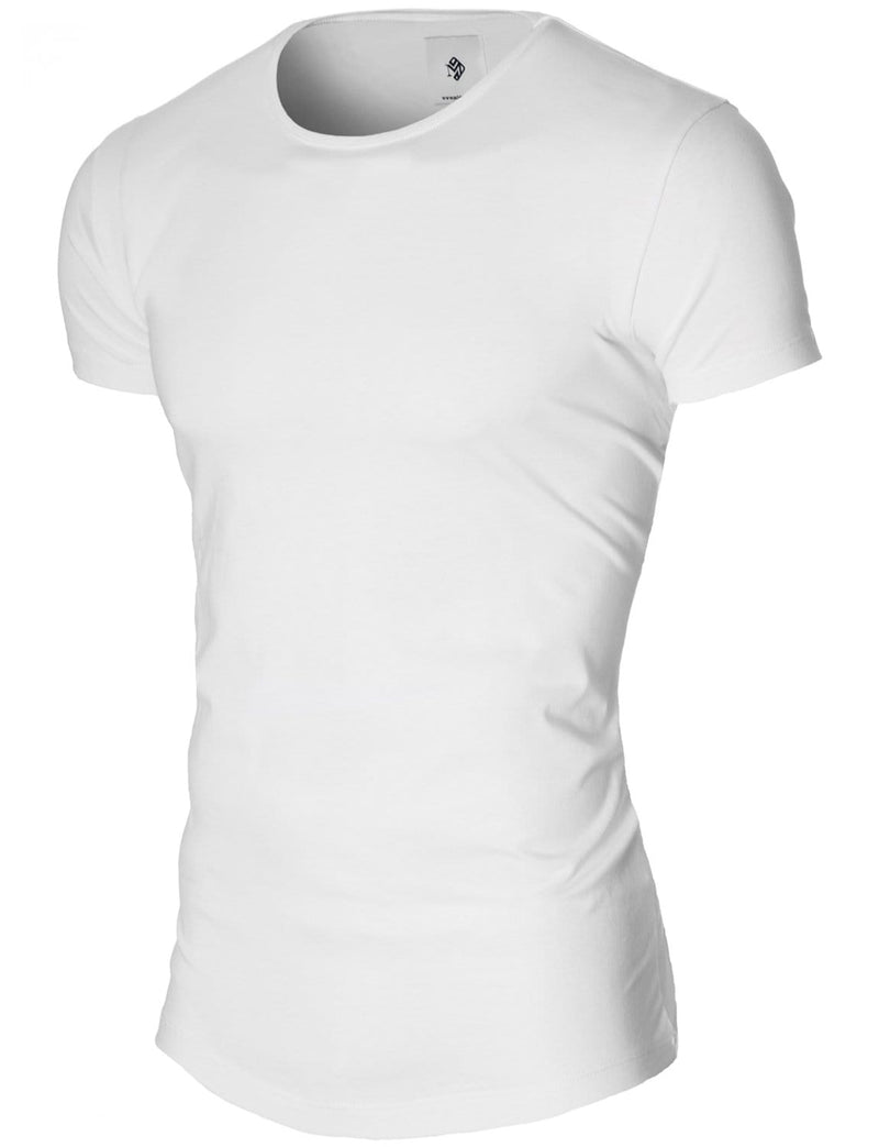 plain basic long t-shirt