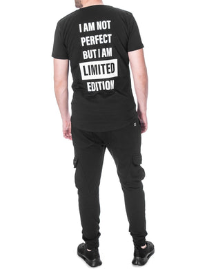 """I Am Not Perfect But I Am Limited Edition"" T-shirt"