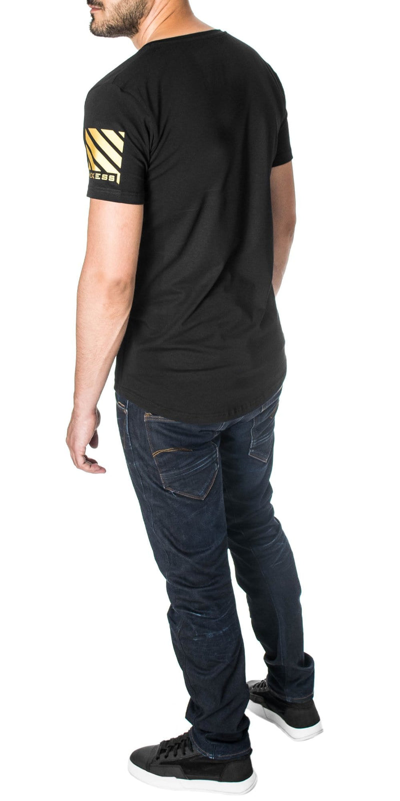 longline graphic tees Mexess