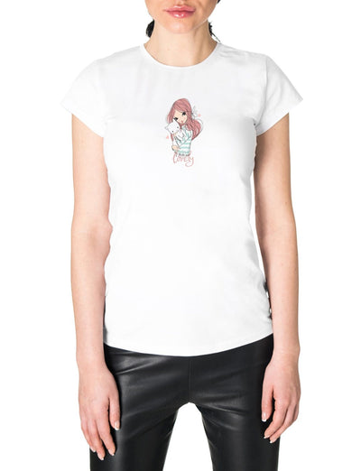 lovely graphic tee for women