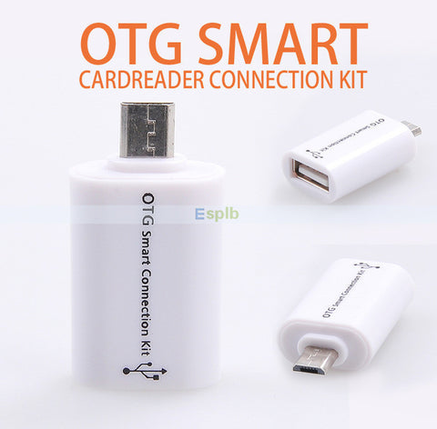 Micro USB OTG Smart Connection Kit for Android Smartphones and Tablets - buy26