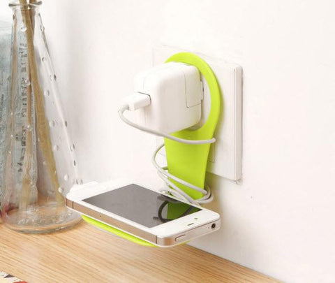 Universal Mobile Charging Wall Stand Shelf Holder