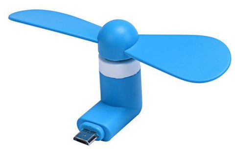 Micro USB Mobile Fan Portable For Power Bank / Android Mobile - buy26