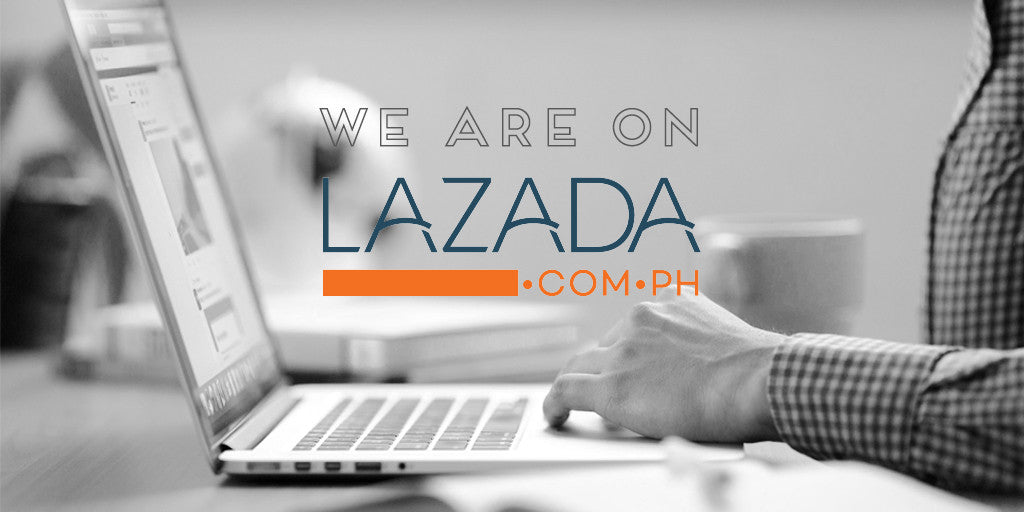 We are on Lazada