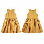 Mae Pocket Dress - Mustard