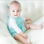 Aquamarine Knitted Romper