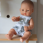 Unisex Camera Romper for 32cm Miniland