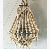 Handmade Timber Chandelier in Natural