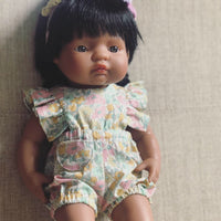 Liberty of London Frill Romper for 38cm Miniland