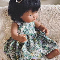 Little Lady Dress in Osaka floral for 38cm Miniland