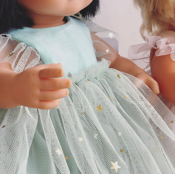 Starry Mint Arabella Dress for 38cm Miniland