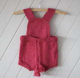 Rose 100% Alpaca Knitted Romper