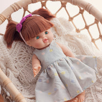 Little Lady Dress Nani Iro for Minikane and 38cm Miniland