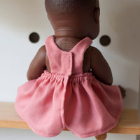 Rose Pinny Dress for 32cm Miniland
