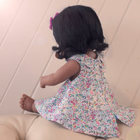 Clementine Ruffle Dress for 38cm Miniland