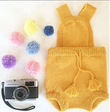 Sunshine 100% Alpaca Knitted Romper