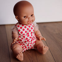 Tulle Spots Romper for Minikane and 38cm Miniland