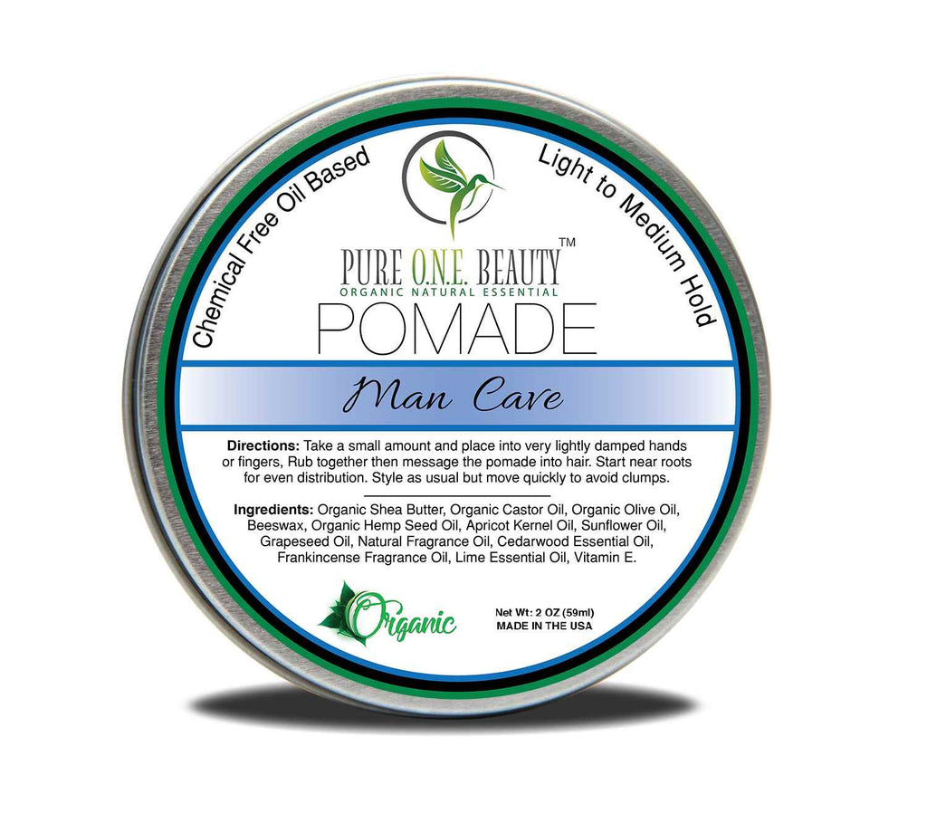 Man Cave Pomade <br> Pick Your Hold - Pure ONE Beauty