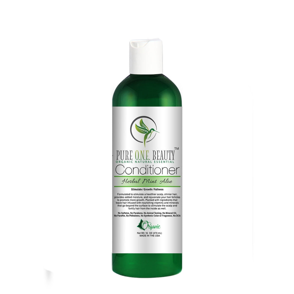 Herbal Mint Aloe <br> Conditioner - Pure ONE Beauty