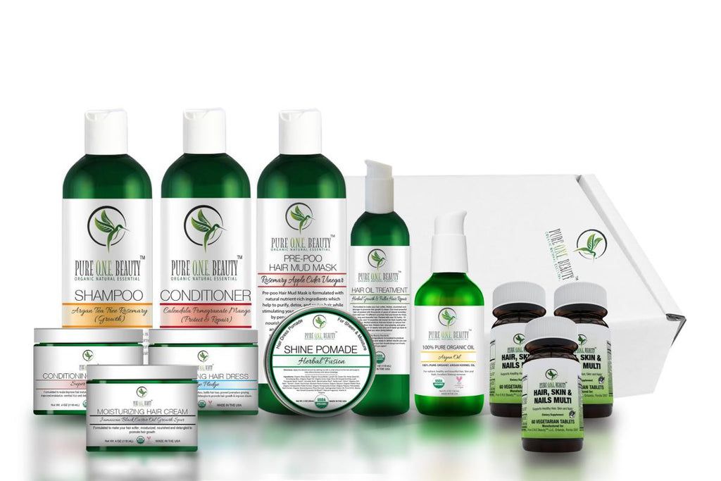 Platinum Executive<br>Hair Growth Kit - Pure ONE Beauty